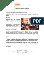 27-04-16 Firma Maloro Acostaa Convenio de Colaboración Con UNISON. C-28516