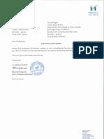 Information Update [Company Update]