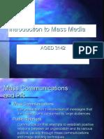 Mass Media Presentation