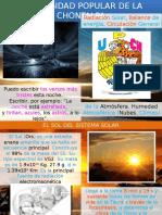 4. Radiación Solar y Humedad Atmósférica