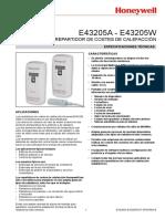 HONEYWELL E43205A - E43205W