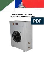 Saravel 3 Ton Ducted Split Unit