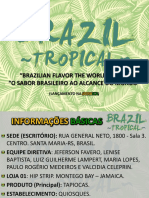 Brazil Tropical - Proposta de Marketing