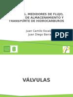 Valvulas, Medidores, Tanques y Transporte.