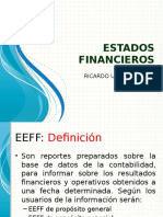 Estados Financieros (Eeff)