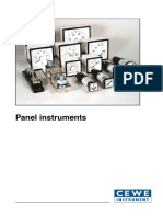 Panel_analog Meter CLR96
