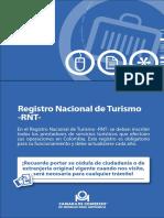 Guía 38. Registro Nacional de Turismo -RNT