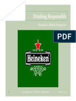 Heineken's Drinking Responsibly Mobile Campaign