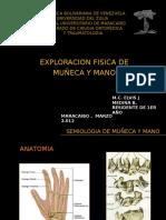 3.-Exploracion Fisica de Muã'Eca y Mano.