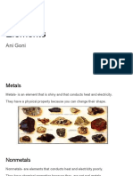 elements slide presentations  ch  5-1  - ani goni