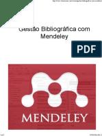 Ementa Completa Gestão Bibliográfica Com Mendeley