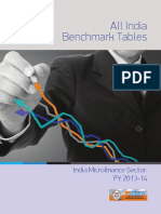 Mix All India Benchmark Tables Fy 2013-14