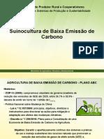 Suinocultura Baixa Emissão de Carbono 02fev16