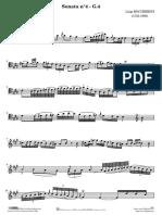 Sonata Boccherini en La Mayor