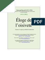 Eloge_oisivete