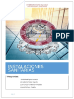 Instalaciones Sanitarias Informe TERMINADO Ok