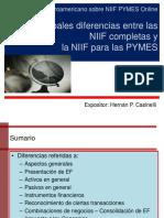 Dif. Entre Niif Com. vs Niif Pymes