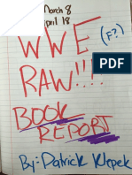 Patrick Klepek's WWE Raw Book Report