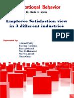 Organization Behaviour - Robbins book - project
