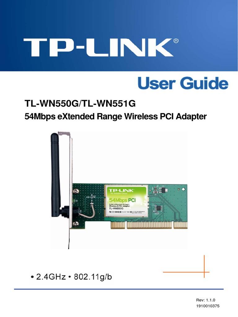 driver tp link tl-wn550g