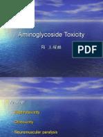 Aminoglycoside Toxicity