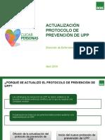 Actualización Protoclo de Prevención de UPP 2016
