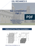 Soil Consolidation 2