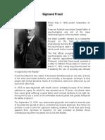 Sigmund Freud Bibliografia Ingles