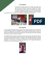 Trajes Tipicos de Cada Departamento de Guatemala Completo