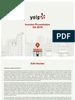 Yelp Q4 Investor PresentationvFINAL