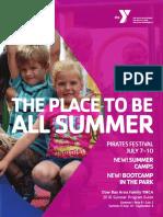Dow Bay Area Family YMCA Summer Program Guide 2016