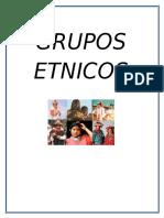 GRUPOS ETNICOS