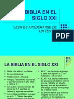 La Biblia en El Siglo Xxi 2