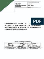 Lineamineto 800-8000-DCSIPA-L-002  2004
