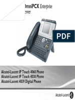 ENT PHONES IPTouch-4038-4068-4039Digital-OXEnterprise Manual 0907 PT