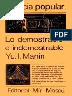 Lo Demostrable e Indemostrable Archivo1