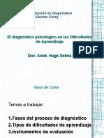 Diagnostico en Dificultades de Aprendizaje
