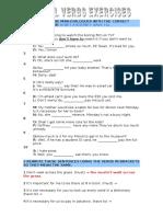 Modals Exercises Short (2)