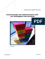 Construyendo Una Infraestructura ITIL en El ServiceDesk