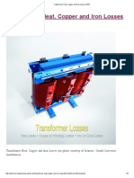 Transformer Heat, Copper and Iron Losses _ EEP