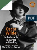 """Wilde - """"la balada de la cárcel de Reading"""" edición bilingüe"""