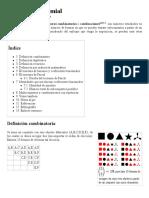 Coeficiente Binomial