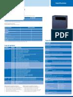 Especificaciones TDA100D