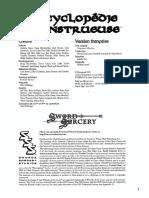 [D&D3][D20][JDR-FR] Les Terres Balafrées - Livre de Règles - Encyclopédie Monstrueuse