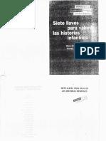 Teresa Colomer - Siete Llaves Para Valorar Las Historias Infantiles.o