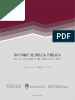 Informe Trimestral de Deuda Pública