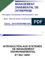 Cours Module Gestion Des Déchets Et l'Environnement Industriel FI GET