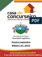 Apostila Ale Rn 2015 Tecnicolegislativo