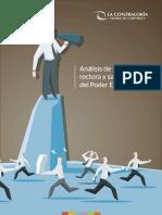 Estudio CGR - Análisis del rol rector y sancionador del Poder Ejecutivo