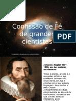 Confissao de Fe Cientistas